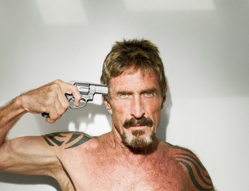 John McAfee Series  to Debut Spring 2016